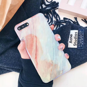 Accessories - NEW iPhone X/7/8/7+/8+ Glossy Marble case